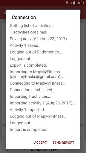 SyncMyTracks Free  Screenshots 4