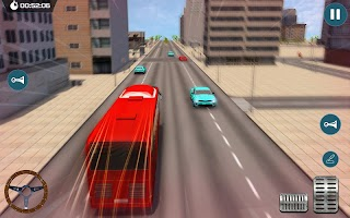 Modern City Public Coach Bus Simulator