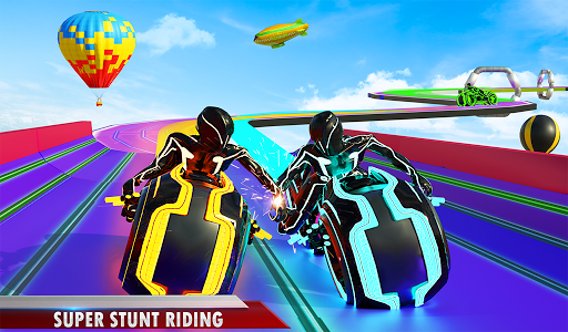 Mega Ramp Light Bike Stunts: New Bike Racing Games modavailable screenshots 11