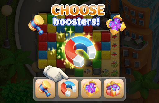 Traveling Blast: Match & Crash Blocks with Friends  screenshots 3