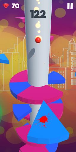 Jumplix - Helix Ball Bounce 3D apktreat screenshots 2