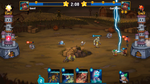 Spooky Wars - Battle Castle Defense Strategy Game SW-00.00.58 screenshots 2