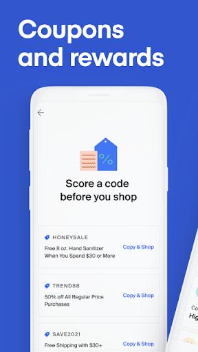Honey Smart Shopping Assistant  Screenshots 2