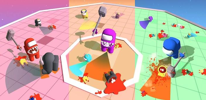 Imposter Smashers - Unterhaltsame io-Spiele