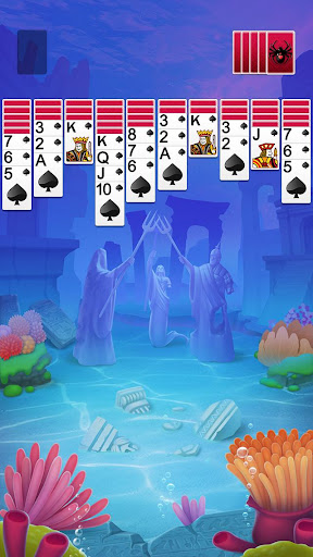 Spider Solitaire 1.0.8 screenshots 1