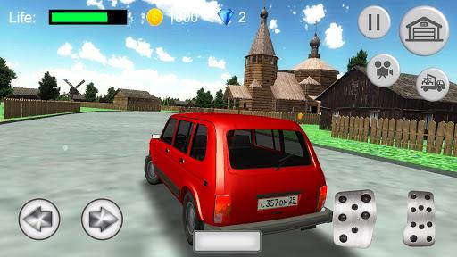 Russian SUV Simulator apkdebit screenshots 4