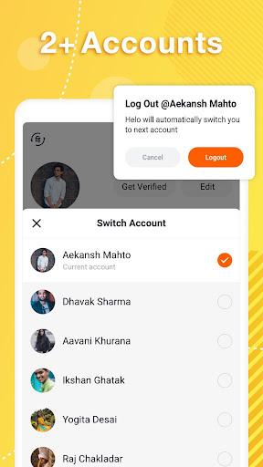 Helo Lite - Download Share WhatsApp Status Videos 1.1.0.14 Screenshots 4