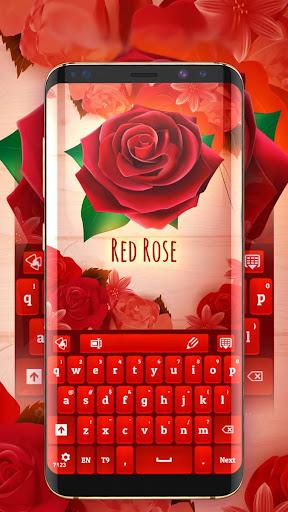Red Rose Keyboard 2021  screenshots 1
