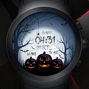 Watch Face - Halloween Spooky