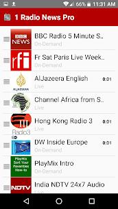 1 Radio News Pro APK 2