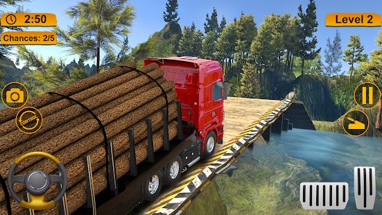 Off-road Cargo Truck Simulator 1.0 Screenshots 10