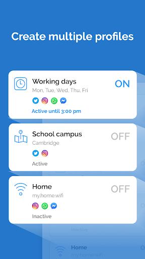 AppBlock - Stay Focused (Block Websites & Apps)  Screenshots 4