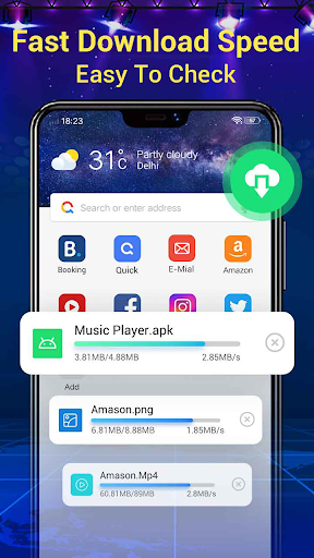 Web Browser & Fast Explorer android2mod screenshots 2
