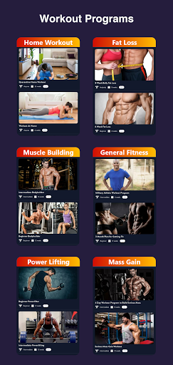 Olympia Pro - Gym Workout & Fitness Trainer AdFree screen 2