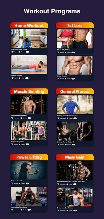 Olympia Pro - Gym Workout & Fitness Trainer AdFree poster 2