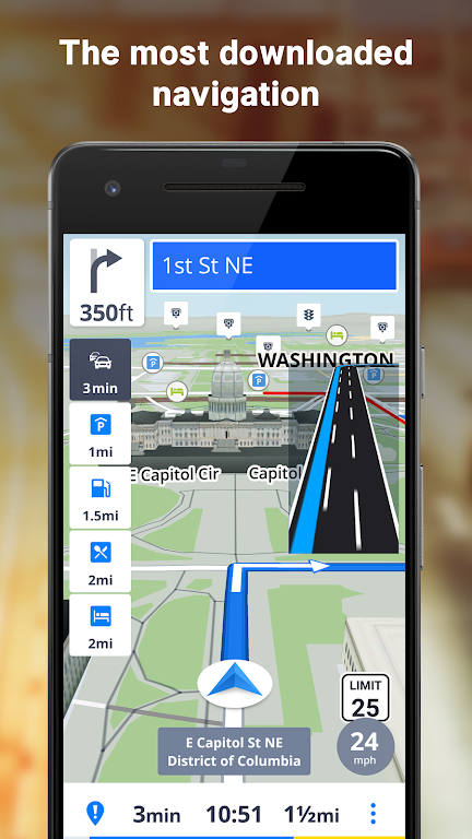 Sygic GPS Navigation & Offline Maps poster 0