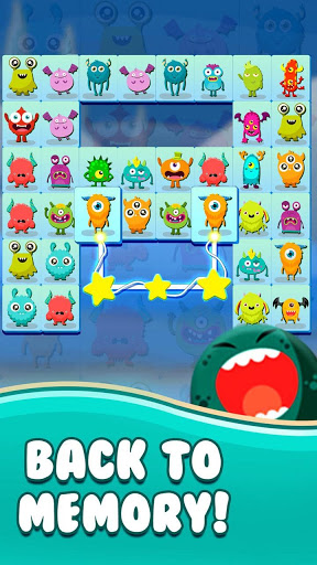 Onet Connect Monster - Play for fun apkslow screenshots 5