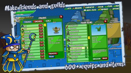 Helmet Heroes MMORPG - Heroic Crusaders RPG Quest 10.6 Screenshots 2