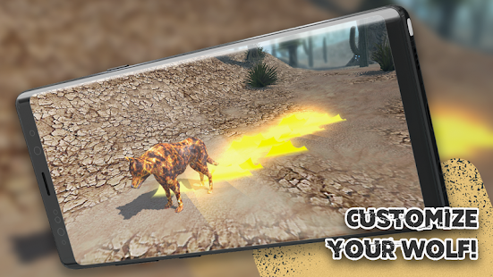 Wolf Simulator - Animal Games  screenshots 3