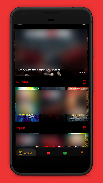 Voir Films et Séries HD - Streaming Gratuit Android App Screenshot