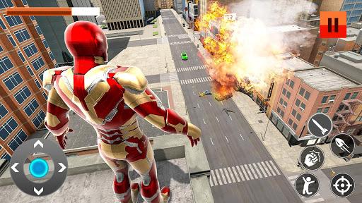 Iron Superhero War: Iron Robot Rescue Mission 2020  screenshots 12
