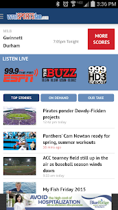 WRAL Sports Fan  For Pc (Windows 7, 8, 10 And Mac) Free Download 2
