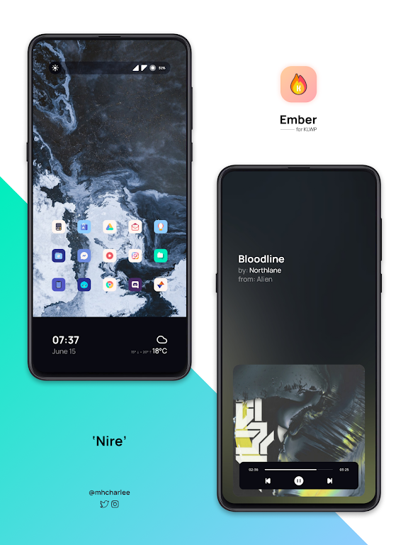 Ember for KLWP  poster 5