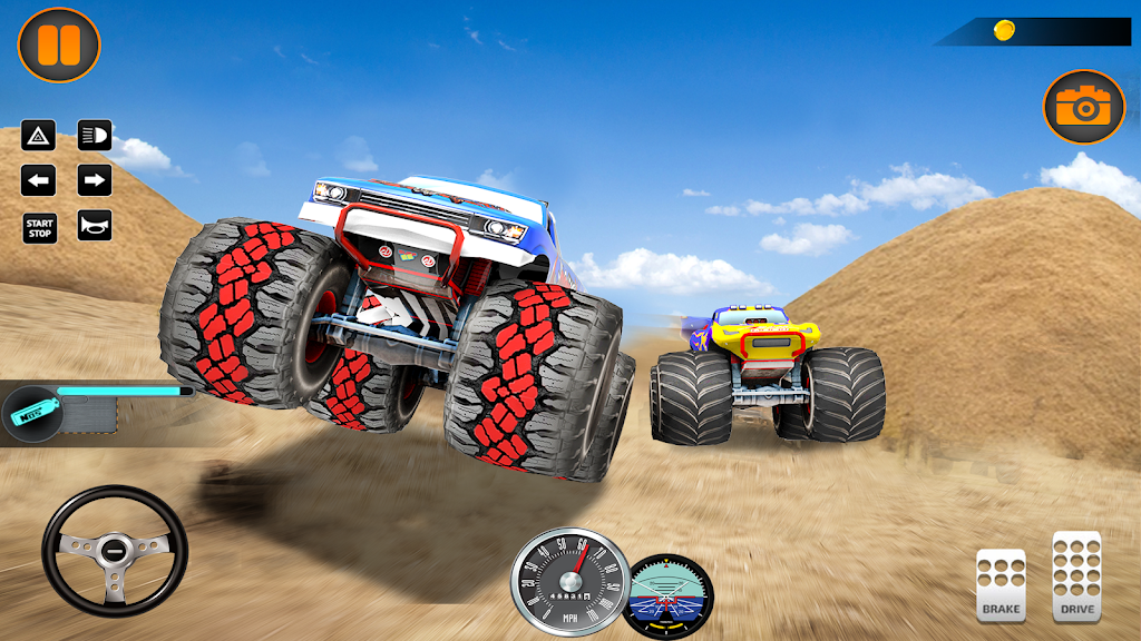 Monster Truck Off Road Racing 2020: Offroad Games  poster 3