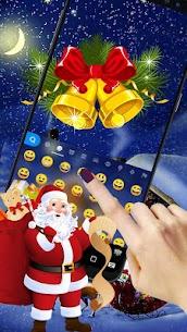 Animated Christmas Keyboard Theme 3