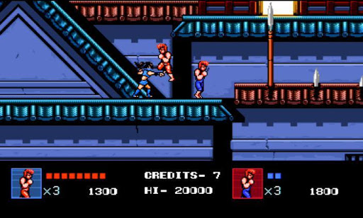 double dragon 4 screenshot 1