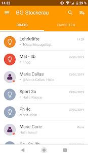 Untis Messenger 3.8.1 screenshots 1