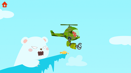 Dinosaur Helicopter - Games for kids  screenshots 5