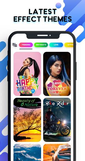 Lyrical Video Status Maker - Photo Video Music android2mod screenshots 2
