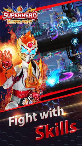 Superheroes Fight: Sword Battle - Action RPG screenshots 1