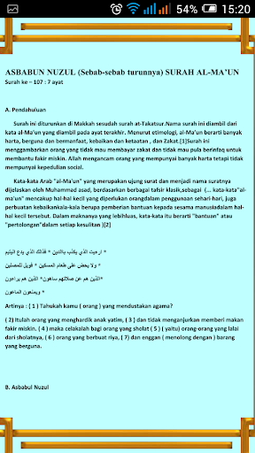 Surah Hafazan & Asbabun Nuzul For PC Windows (7, 8, 10, 10X) & Mac Computer Image Number- 11