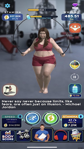 Idle Workout ! modavailable screenshots 10