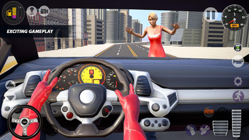 Superhero Taxi Car Driving Simulator - Taxi Games 1.0.2 Screenshots 2