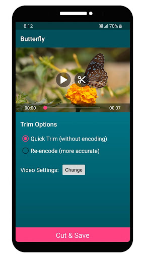 VEdit Video Cutter and Merger android2mod screenshots 4
