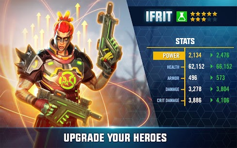 Hero Hunters MOD 4.12 (Unlimited Money and Gold) 4