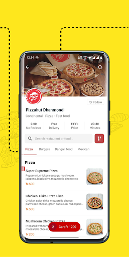 eFood - Express Food Delivery 1.6 screenshots 2