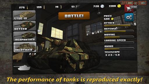 Attack on Tank : Rush - World War 2 Heroes 3.3.1 screenshots 1