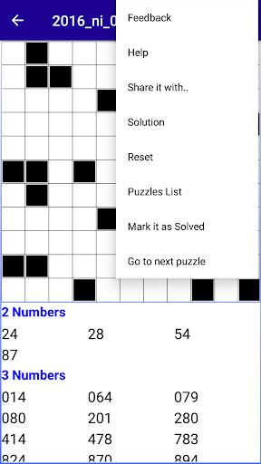 Number Fill in puzzles - Numerix, numeric puzzles screenshots 8