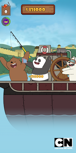 We Bare Bears: Crazy Fishing  screenshots 3
