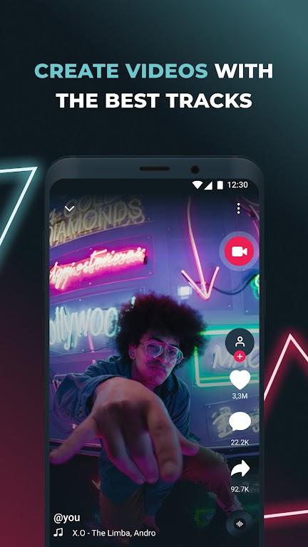 TikMusic – Trending music and viral videos  poster 2