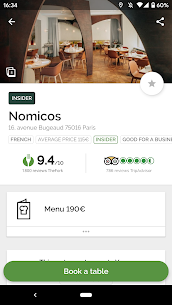 TheFork – Restaurants booking and special offers 17.2.1 Unlocked MOD APK Android 1