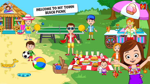 My Town : Beach Picnic Games for Kids  screenshots 7