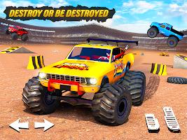 Monster Truck Demolition Derby Crash Stunt Games