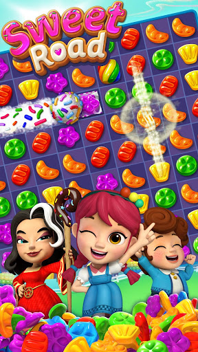 Sweet Road: Cookie Rescue Free Match 3 Puzzle Game screenshots 7