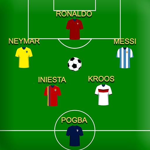 Football Squad Builder:  Build Lineup and Tactics