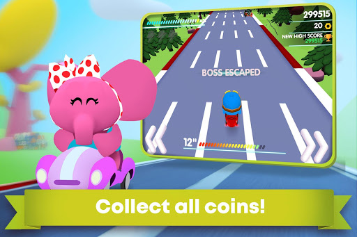 Pocoyo Racing: Kids Car Race - Fast 3D Adventure  screenshots 6